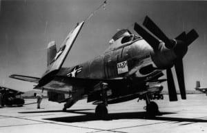Douglas XA2D-1 At Edwards AFB