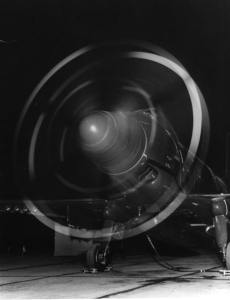 Douglas A2D-1 Propellers Turning