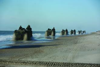 Amphibious Assault Vehicles (AAVs)