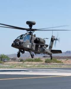 AH-64 Apache Block III liftoff