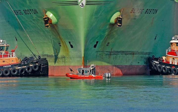 LNG tanker Berge Boston