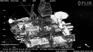 Deepwater Horizon FLIR System imagery