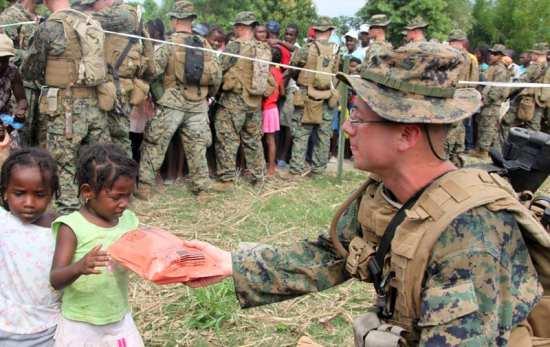 Humanitarian Daily Ration in Haiti