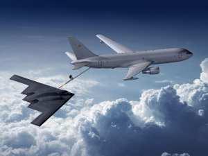 KC-46 and B-2