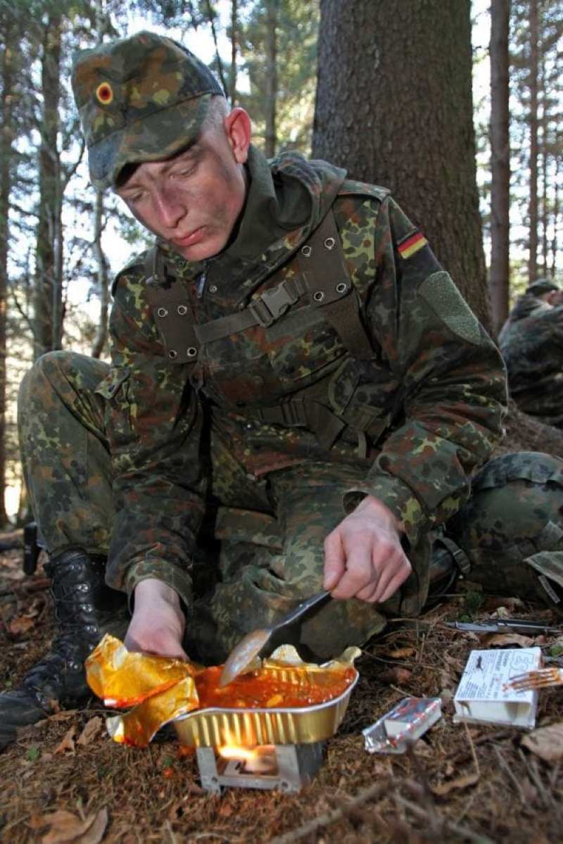 German Army Ration Kit