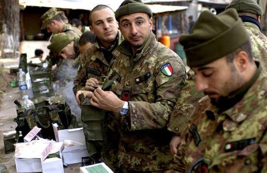 Italian Army Ration Kits