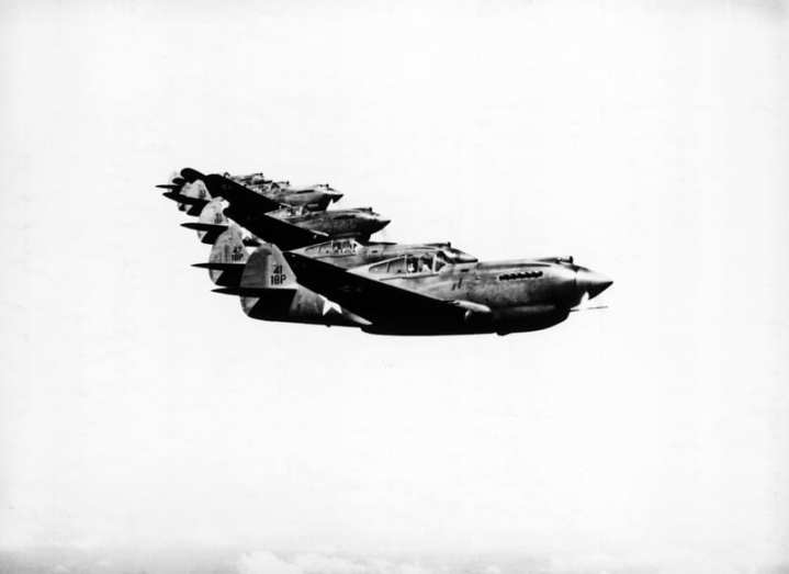 P-40 Tomahawks