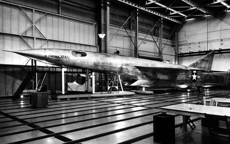 Republic XF-103 mock-up
