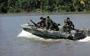 SEAL Team TWO in SEAL Team Assault Boat (STAB)