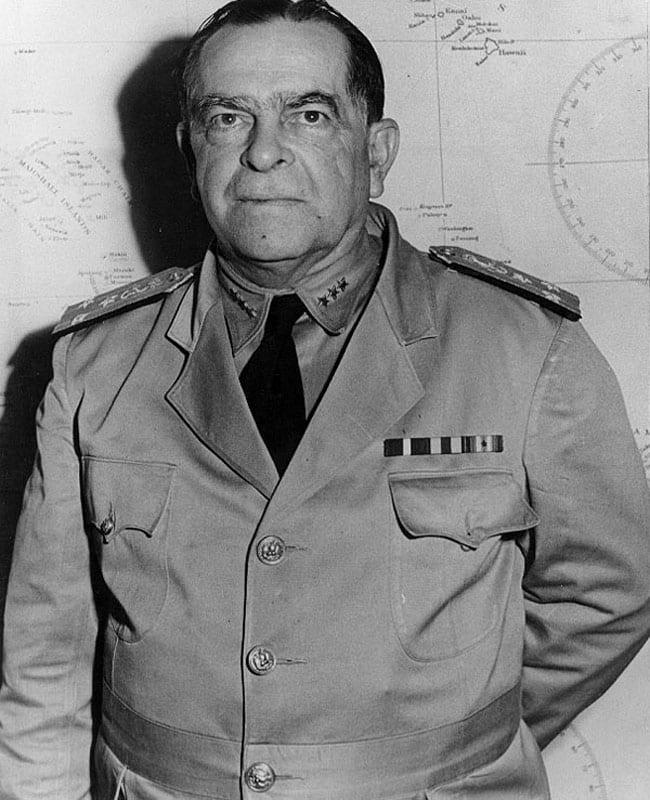 Vice Adm. William S. Pye