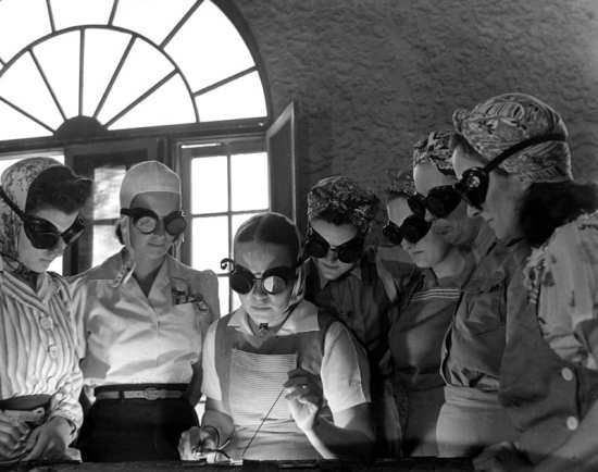 Women at Work During WWII