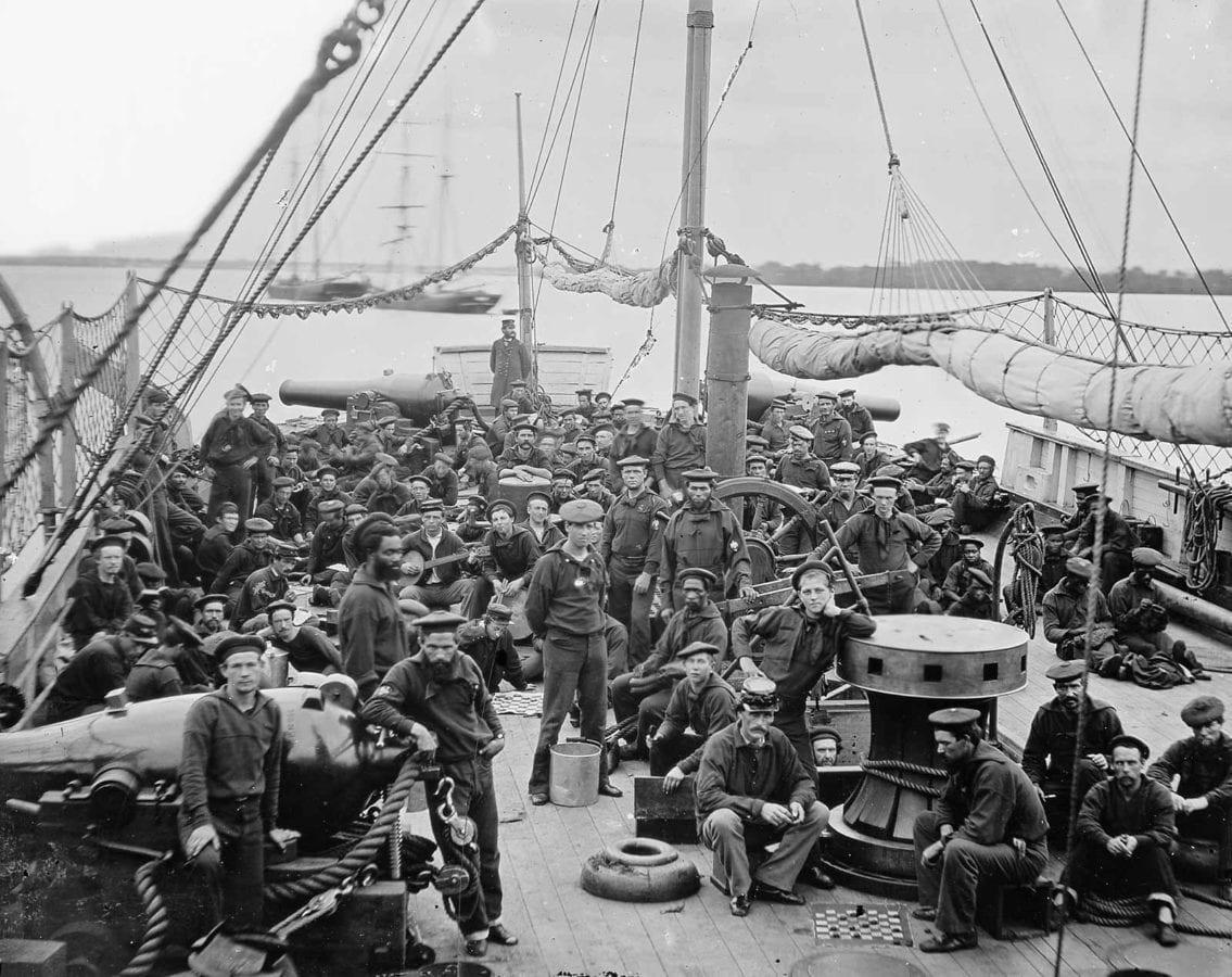 The Civil War on the Water: The Union Blockade l Photos   Defense ...