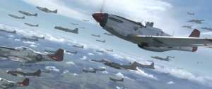 P-51s in the Red Tails Movie