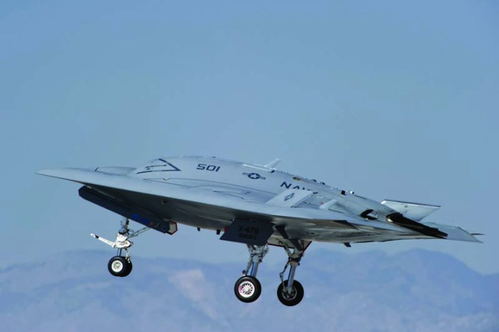 X-47B Tailless Unmanned Aircraft