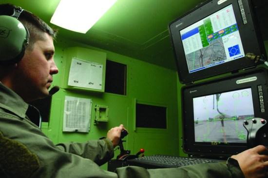 RAF Officer Leads MQ-1 Predator Operations