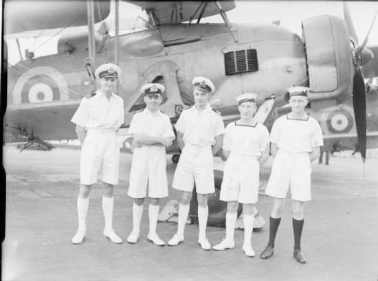 Bismarck decorated aircrew