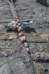 Japanese-fire-trucks-in-Sukuiso-after-disasters