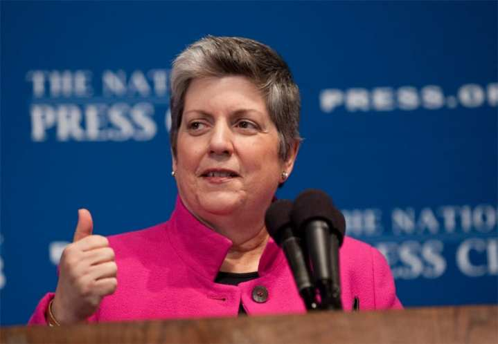 Napolitano State of DHS 2012