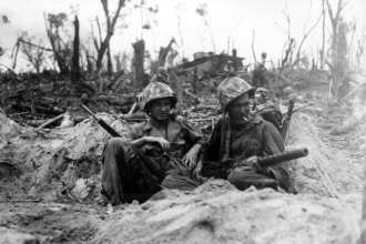U.S. Marines on Peleliu