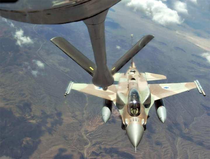 F-16I tanking
