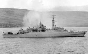 HMS Antelope Falklands