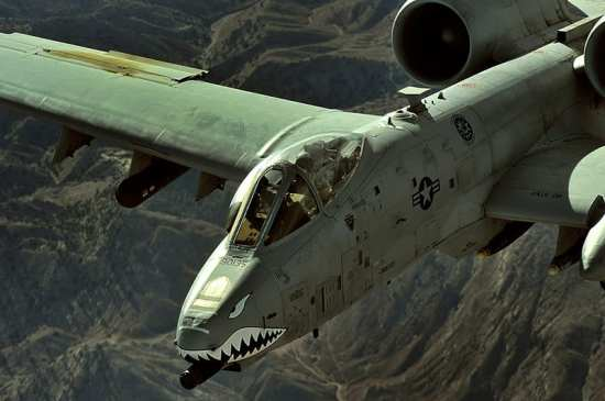 A-10 Afghanistan hop