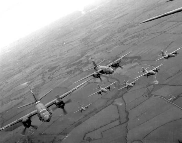 B-26 Maraunders of 323rd Bombardment Group