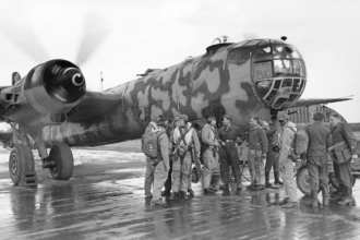 He 177 engine run