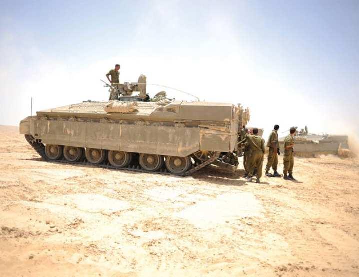Israeli Namer IFVs