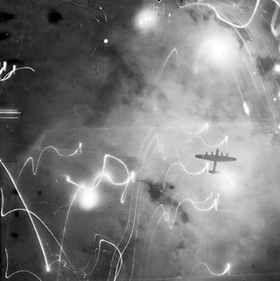 Lancasters over Hamburg