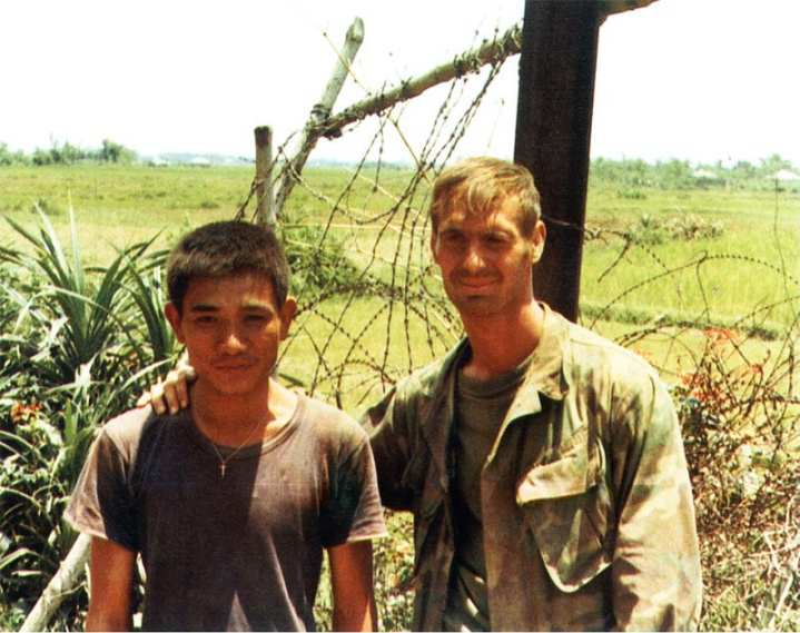 Lt. Thomas R. Norris and South Vietnamese Petty Officer Nguyen Van Kiet