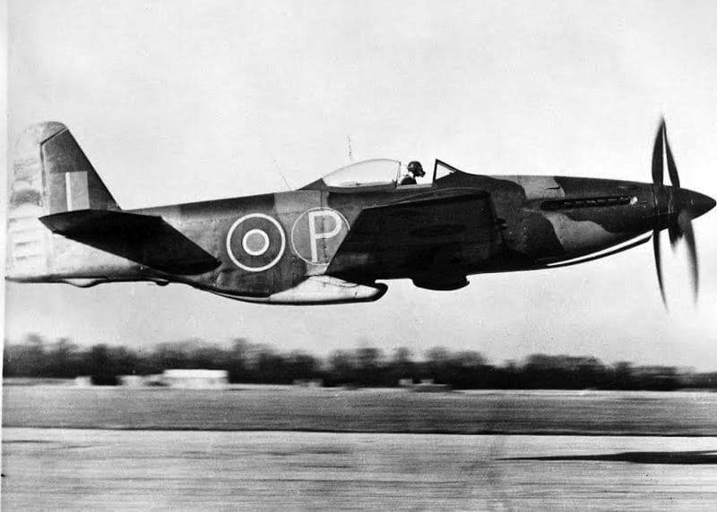 Martin-Baker MB 5 Takeoff
