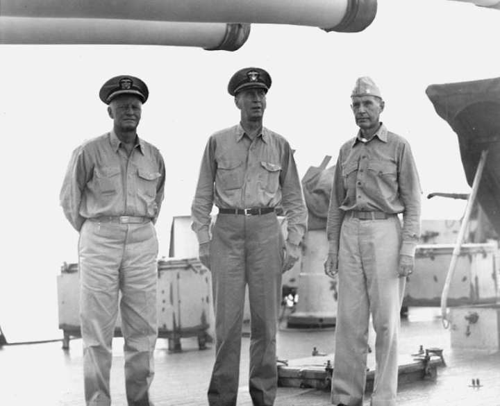 Nimitz, King, and Spruance