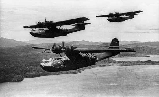 PBY-5A VP-52 Black Cats Dec. 1943