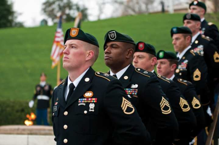 Special Forces Green Berets