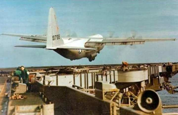 KC-130 Aircraft Carrier Test
