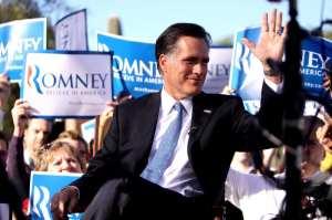 Romney AZ rally