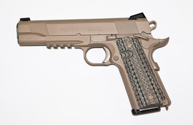 M45A1: The Return of the M1911  45 ACP?   Defense Media Network