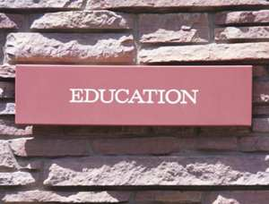 Education-sign