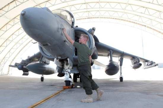 Harrier, Camp Bastion shelter 659475