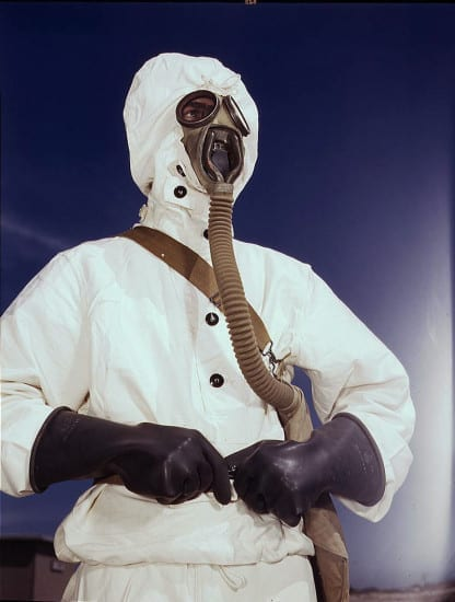 U.S. Navy World War II Chemical Weapon Equipment