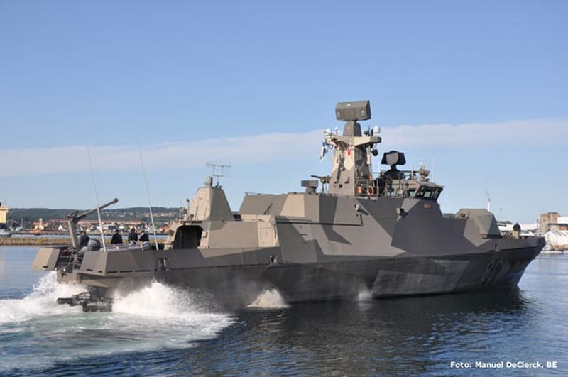Finland's Hamina-class Fast Attack Craft Combines Stealth ...