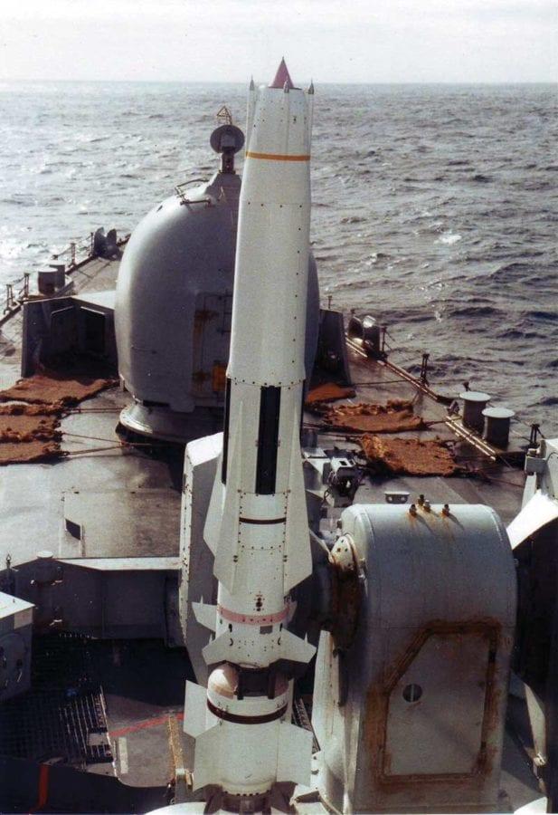 Sea Dart Missile