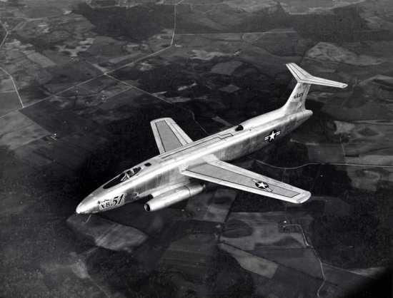 XB-51 cockpit and coal hole