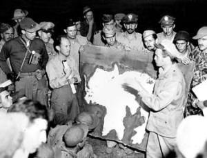 Maj. John Alison Lt. Col. Phil Cochran Burma 1944