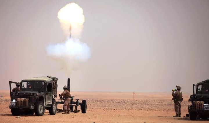 24 MEU Deployment 120 mm EFSS live fire