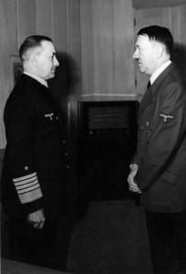 Grand Adm. Erich Raeder And Adolf Hitler