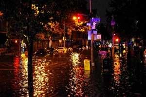 Hurricane Sandy Flooding Avenue C