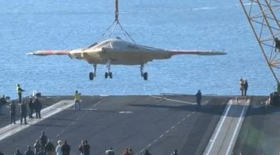 X-47B Arrival