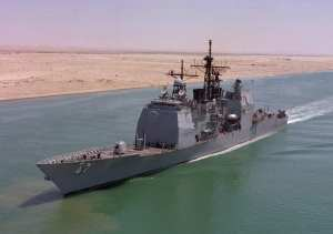 USS Ticonderoga, Desert Shield